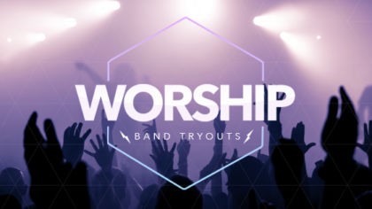 Worship Tryouts