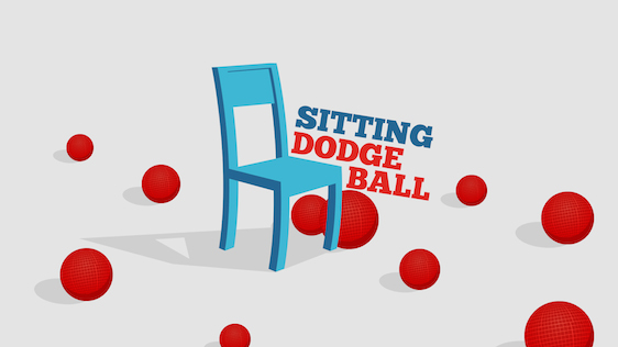 Sitting Down Dodgeball – Game