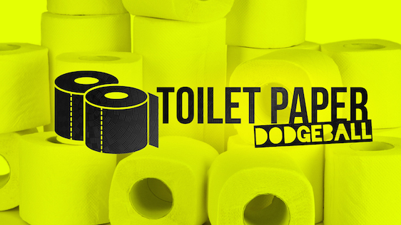 Toilet Paper Dodgeball – Game