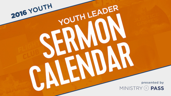 The 2016 Youth Leader Calendar