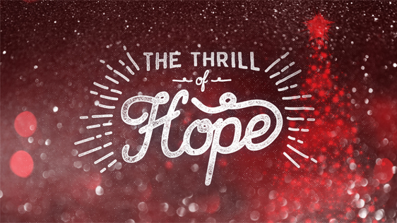 The Thrill of Hope (Red)