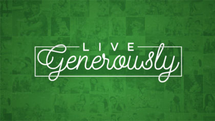 Live Generously – Expanded Pack w/ Bumper