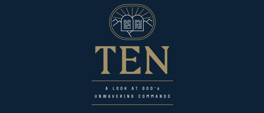 New Product: The Ten Commandments Sermon Series