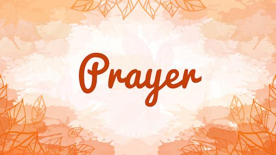 Fall Service Bundle (Prayer)