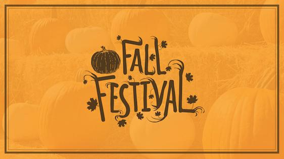 Fall Festival Event Graphic