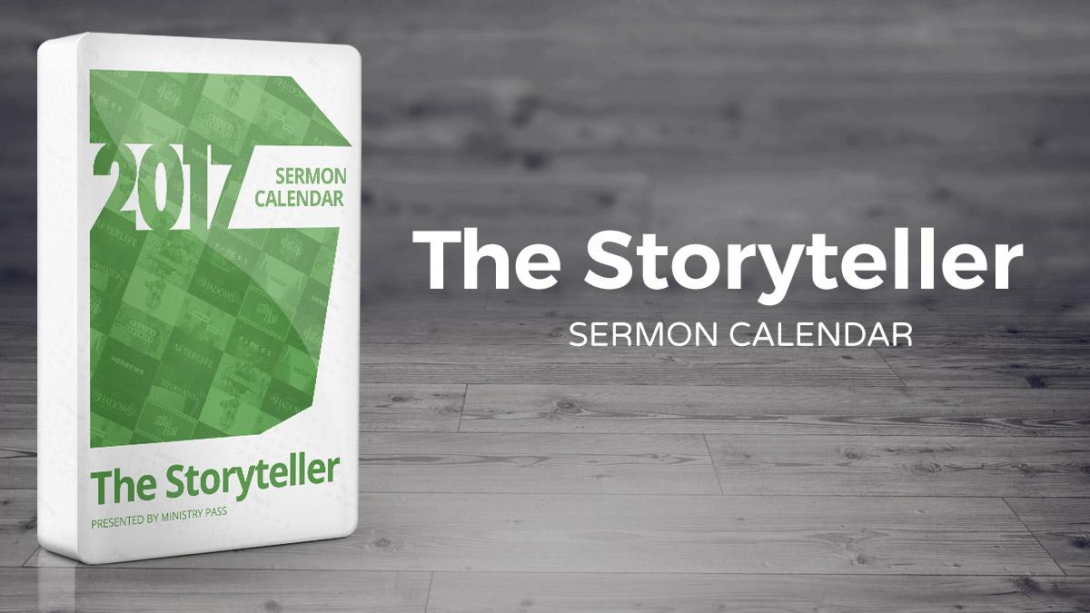 The 2017 Storyteller Calendar