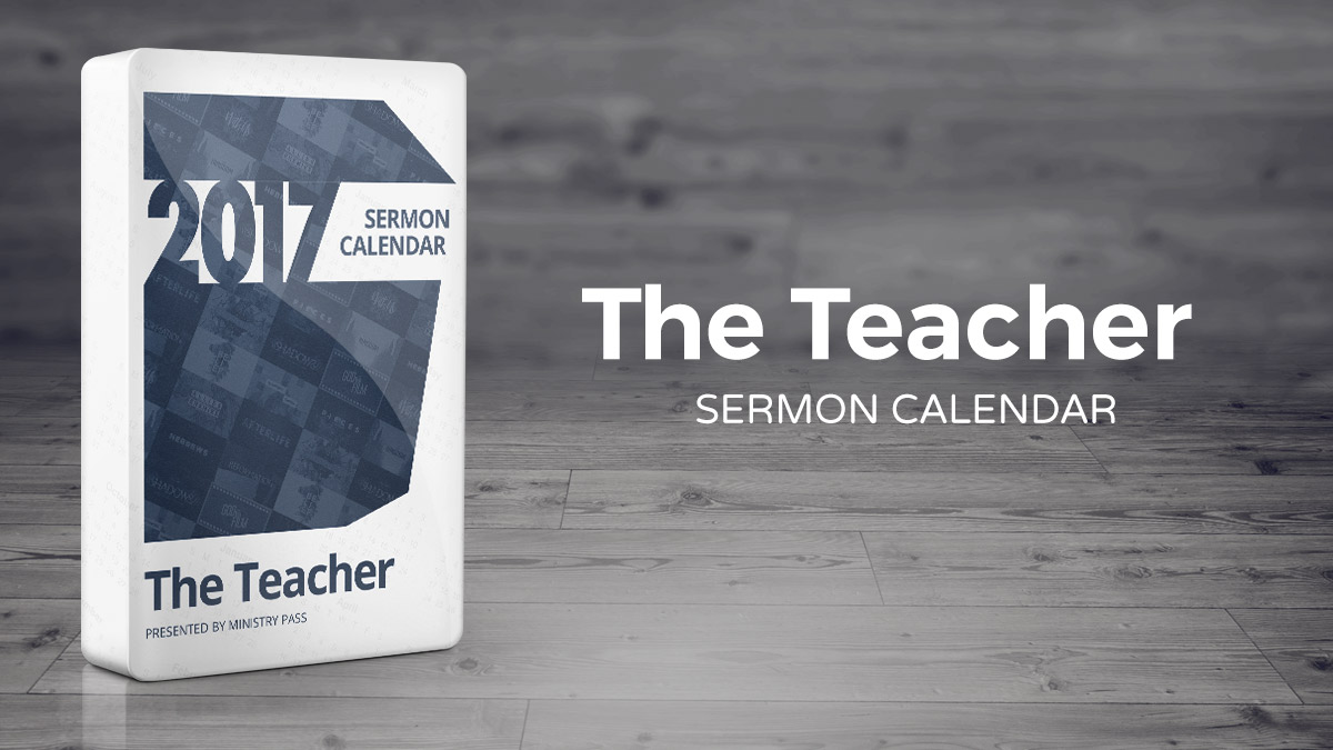 The 2017 Teacher Calendar