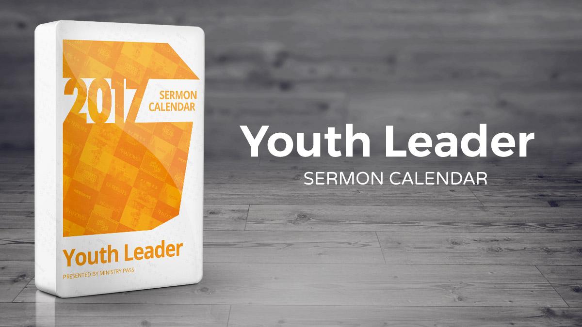 The 2017 Youth Leader Calendar