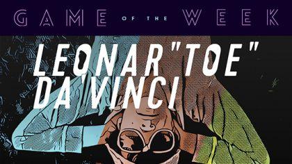 """Game of the Week: LEONAR""""TOE"""" DA VINCI"""
