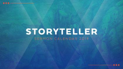 2019 Storyteller Sermon Calendar