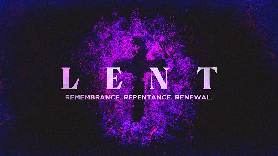 Lent Sermon Series Graphic