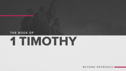 The Book of 1 Timothy: Beyond Reproach