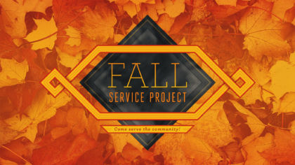 Fall Service Project