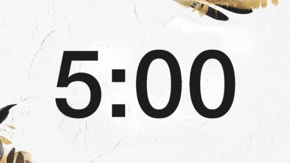 Gold Fleck Countdown Video