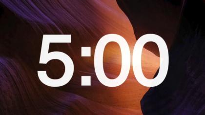 Canyon Countdown Video