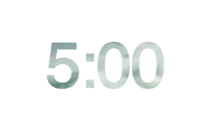 Cloudy Countdown Video