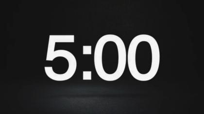 Dark Mode Countdown Video