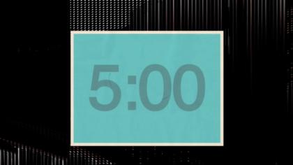 Framed Countdown Video