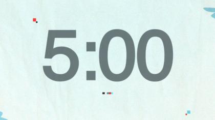 Light Blue Countdown Video