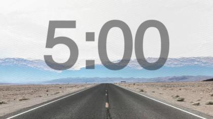 Open Road Countdown Video