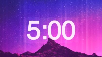 Purple Mountain View Countdown Video