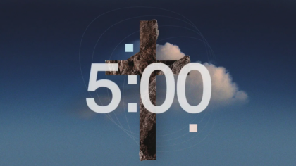 Abstract Cross Countdown Video