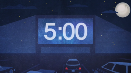 Drive-In Countdown Video