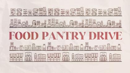Food Pantry Drive