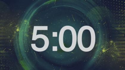 Abstract Circles Countdown Video