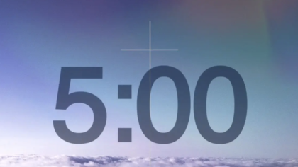 Colorized Sky Countdown Video