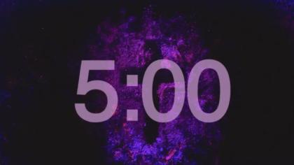 Dark Purple Countdown Video