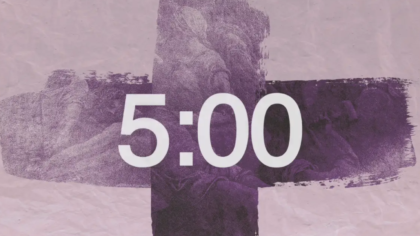 Easter Cross Countdown Video