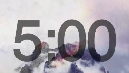 Mountaintop Countdown Video