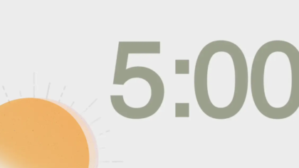 Sunny Countdown Video