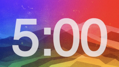 Colorful Countdown Video