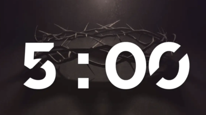 Crown Of Thorns Countdown Video