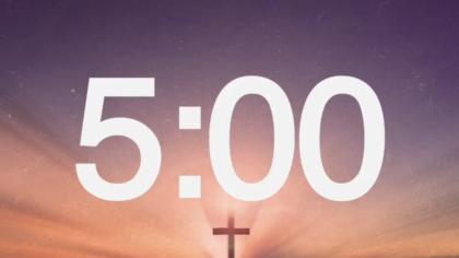 Easter Cross Countdown Video