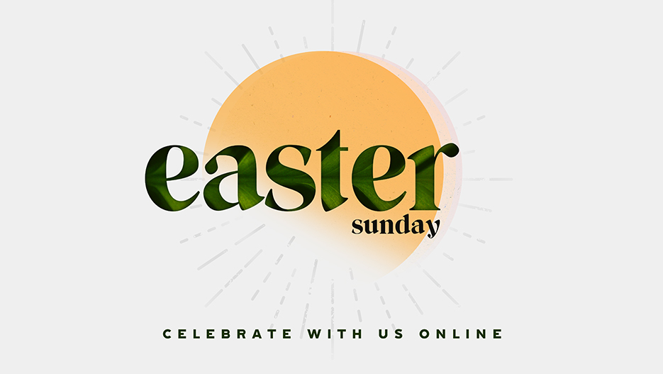 Easter Sunday Streaming Service Graphic