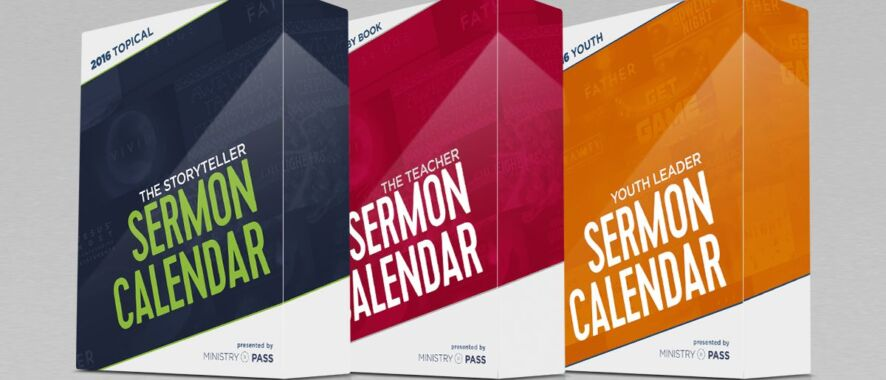 Introducing the 2016 Sermon Calendars