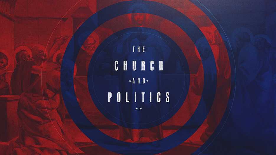 The Church and Politics Sermon Series Graphic