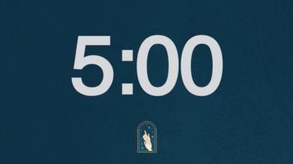 Prayer Hands Countdown Video