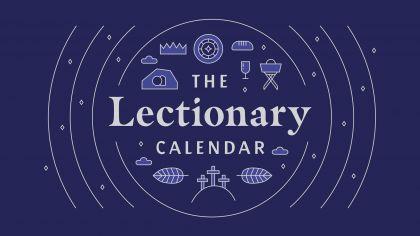 2021 Lectionary Sermon Calendar