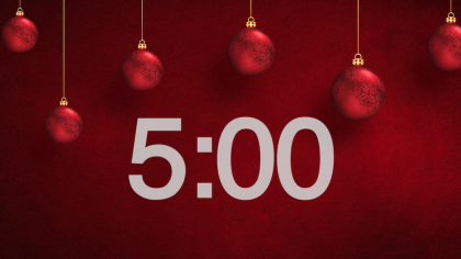 Christmas Ornaments Countdown Video