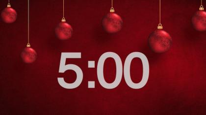 Christmas Ornaments Countdown Video