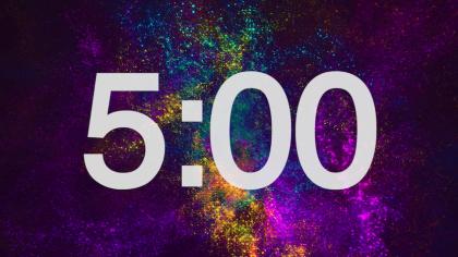 Galaxy Countdown Video
