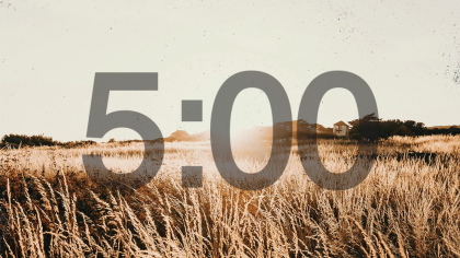 Harvest Countdown Video