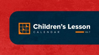 2021 Children's Lesson Calendar