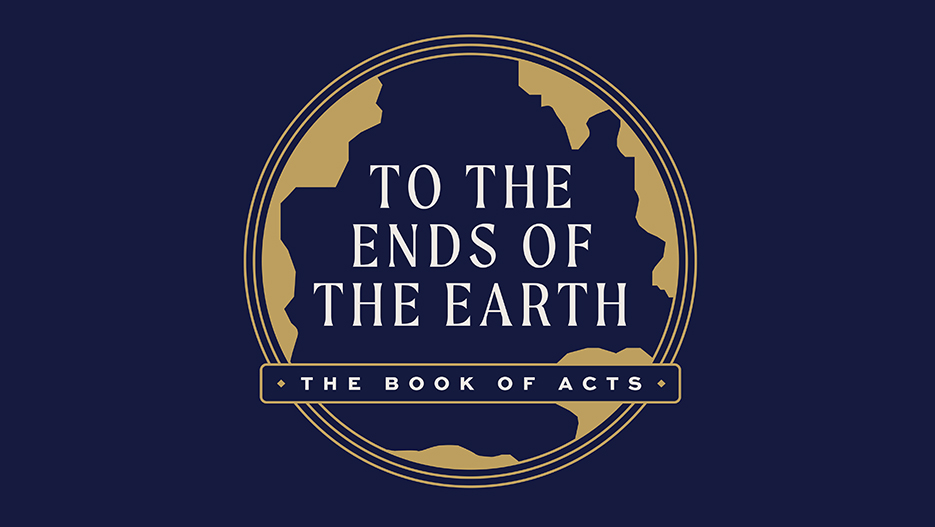 To The Ends Of The Earth Sermon Series Graphic