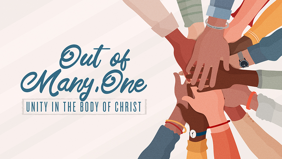 Out Of Many, One Unity Sermon Series Graphic