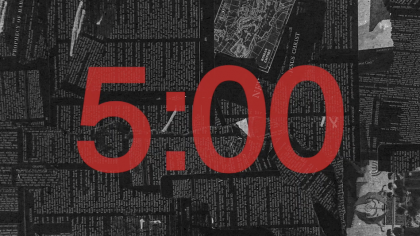 Black and Red Countdown Video